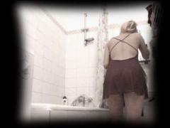 Yummy Blonde Chick Flashes Her Stunning Body Shot On The Spy Cam In Her Bathroom