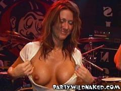 Wild Spring Break Beer And Boobs Bash Wet T-Shirt Contest