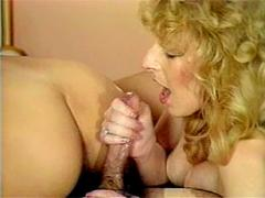 Classic Ladies Fucking And Jerking Rockhard Cock For Cum